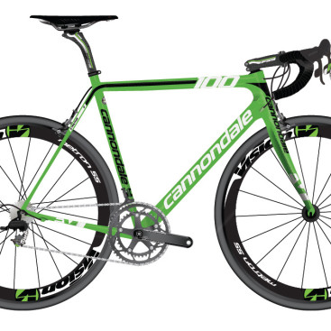 Supersix Evo Hi-Mod Sagan signature Green Edition